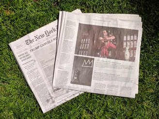 Shamel Pitts' Little Black Box of Red - Featured in the NYT