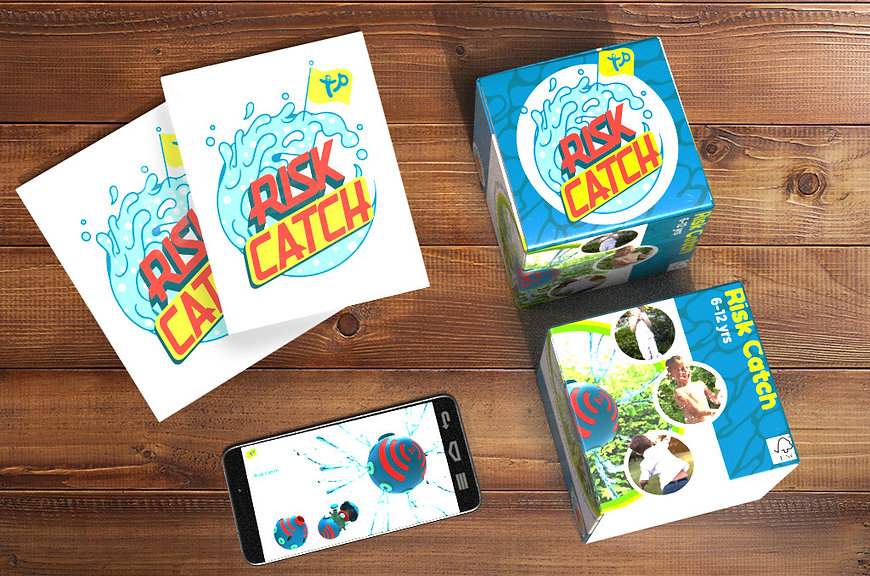 Final- box and brochures for risk catch.