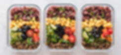 flat-lay-photography-of-three-tray-of-fo