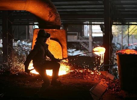 Sản lượng thép thô toàn cầu tăng 4,6% trong 2018
