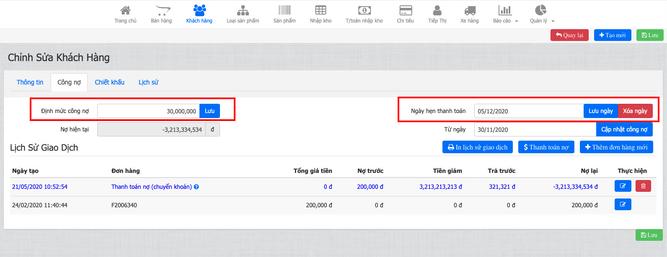 Quản lý khách hàng hiệu quả trên vSmartSell