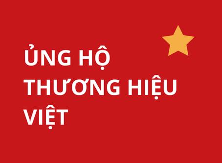 Chung tay cùng thương hiệu Việt