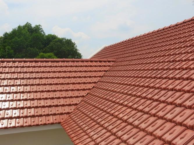 Công trình sử dụng mái ngói
