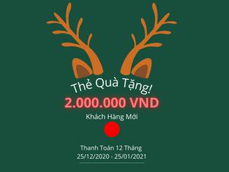 Thẻ Quà Tặng Giáng Sinh Từ vSmartSell