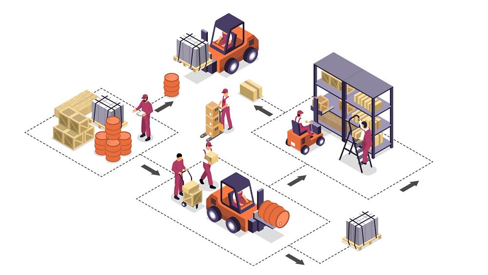 Các chức năng được thiết kế riêng cho doanh nghiệp sản xuất & thương mại vật liệu xây dựng, tôn thép