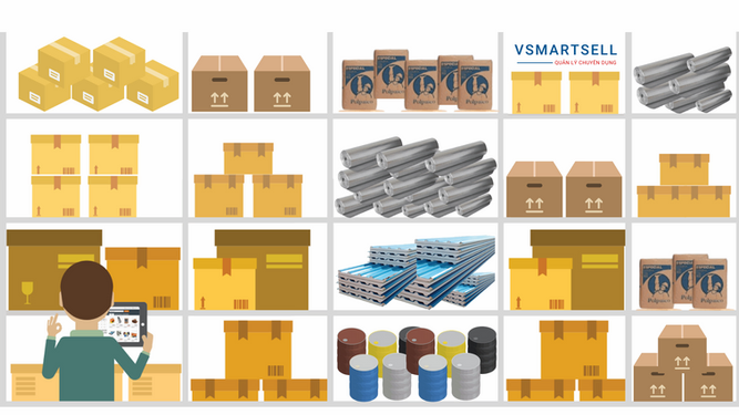 Phần mềm quản lý bán hàng chuyên dụng cho cửa hàng vật liệu xây dựng, tôn thép