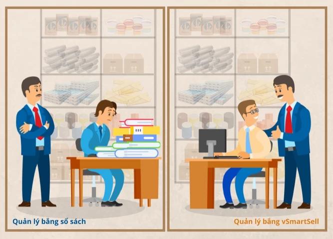 """Chẳng cần 'Giám sát"""" hay """"Cầm tay chỉ việc"""" - Chọn ngay vSmartSell để quản lý nhân viên hiệu quả"""