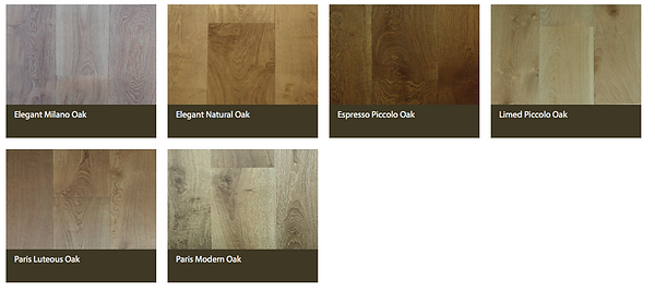 SWISH Engineered Oak