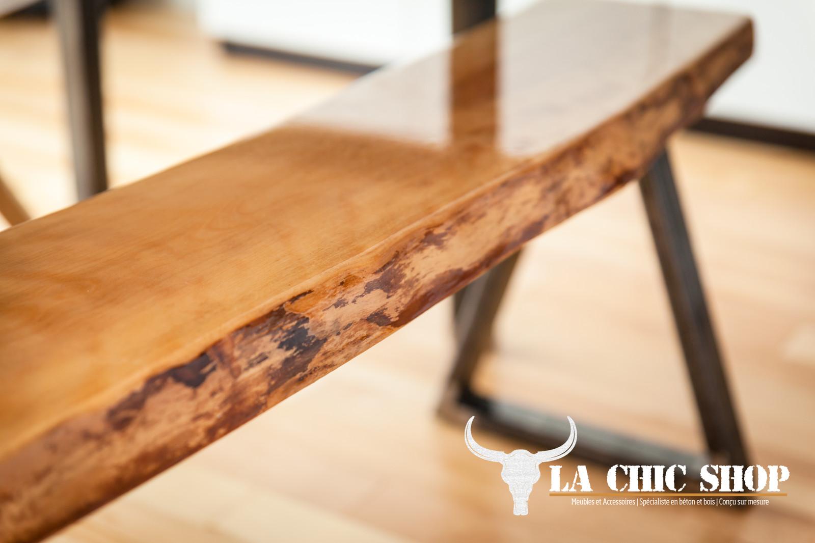La chic shop meubles accessoires b ton bois for Meuble boucherville