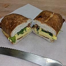 Pretzel Bread Sandwich