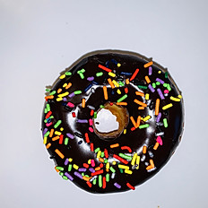 Chocolate Ring with Sprinkles