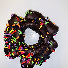 Chocolate Old Fashion with Sprinkles