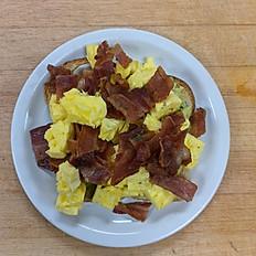 Bacon Egg Avocado Toast