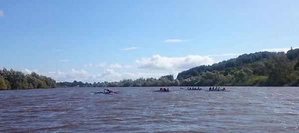 Rowing on the river Suir.JPG
