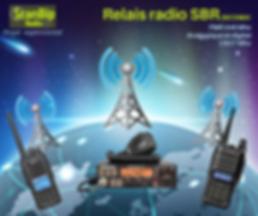 relais radio SBR