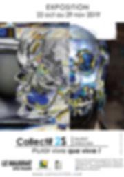 affiche exposition au Majorat. Collectif 2S