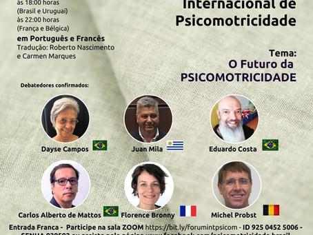 O futuro da psicomotricidade é tema de fórum internacional