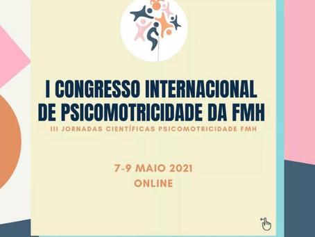 Dayse Campos confirmada no I Congresso Internacional de Psicomotricidade da FMH