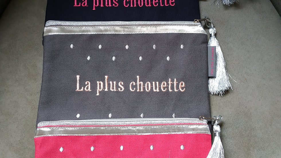 """Pochette 'La plus chouette"""""""