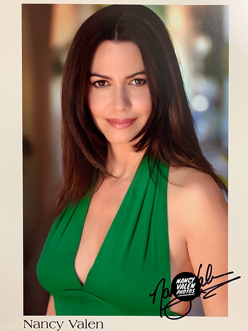 8 x 10 Autographed Color Headshot