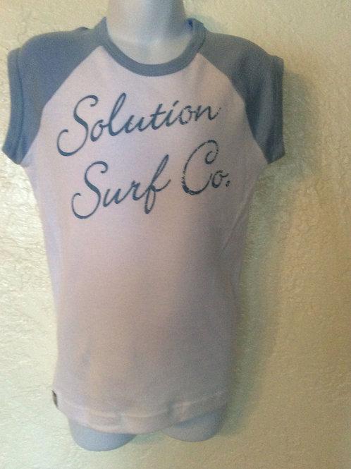 Women's Solution Surf Baseball Tee