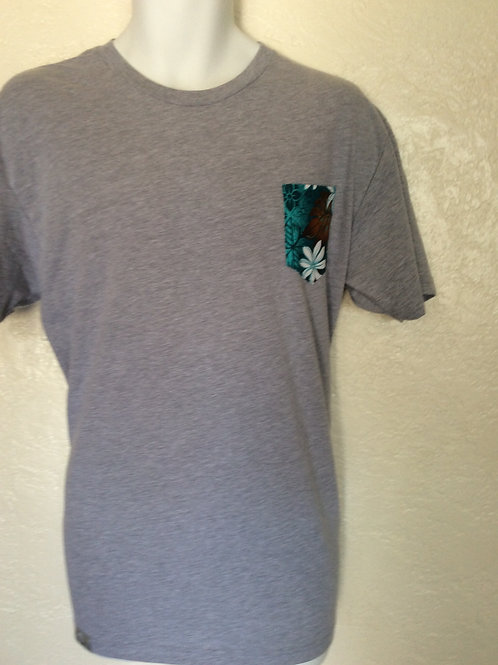 HAWAIIAN POCKET TEE