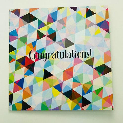 Greeting Card - Congratulations!