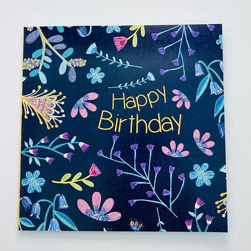 Greeting Card - Happy Birthday