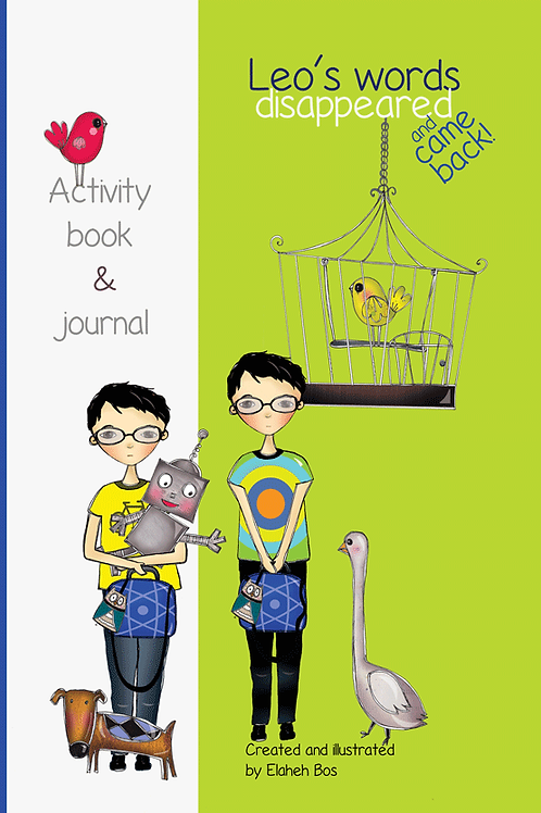 Leo's Words Disappeared and Came Back: Activity Book
