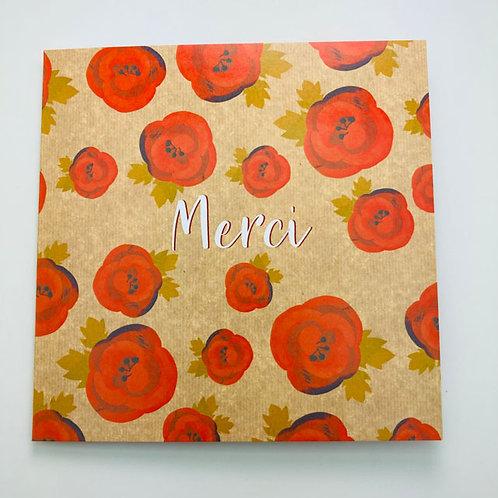Greeting Card (french) - Merci