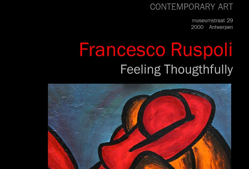 Francesco Ruspoli - Feeling Thoughtfully