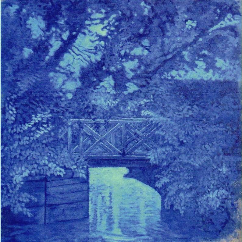 Petit pont bleu
