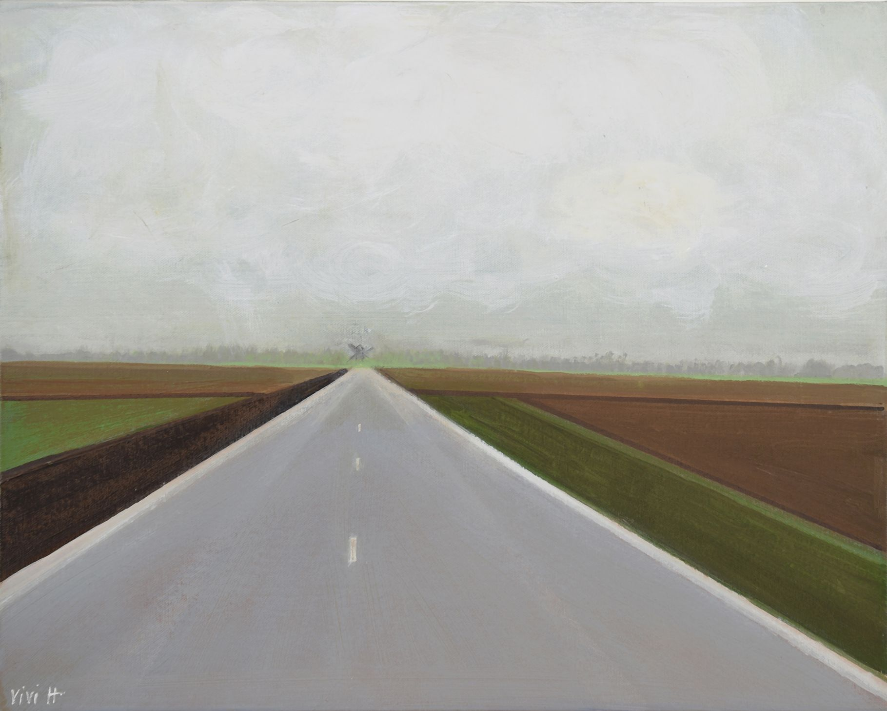 The road to the village