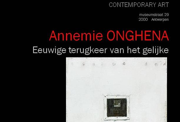 Annemie Onghena - Eeuwige terugkeer van het gelijke