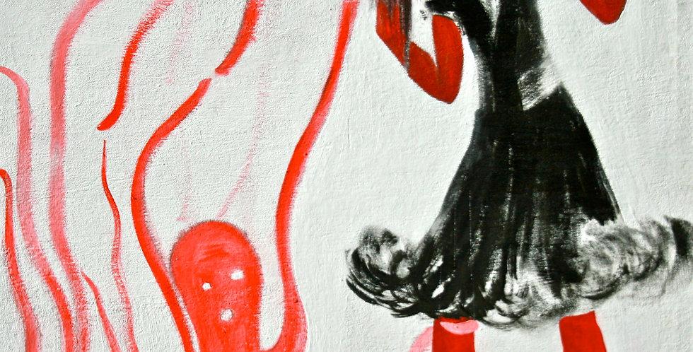 New Court Ladies - Noir Rouge et Blanc Nr. 22    (Cat N° 2161)