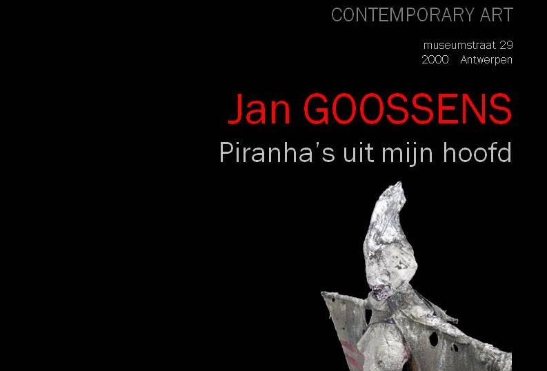 Jan Goossens - Piranha's uit mijn hoofd
