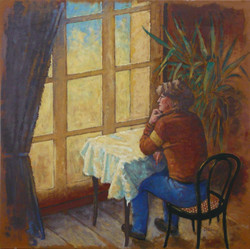 Femme a la fenêtre