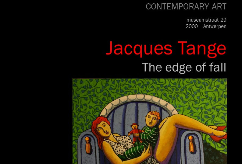 Jacques Tange - The edge of fall - 2015