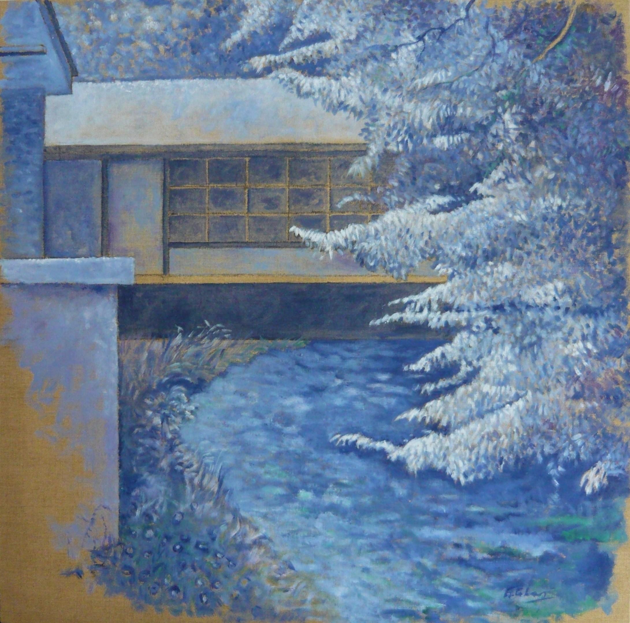 Sur l'Andelle (bleu)
