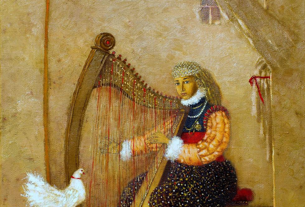 """Harpist"" (arfiste)    (Cat N° 5478)"