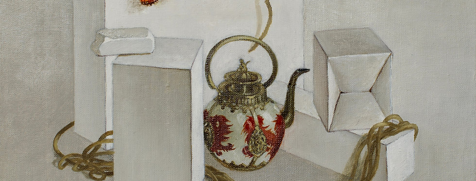 Still Life with Chinese Teapot    (Cat N° 5435)