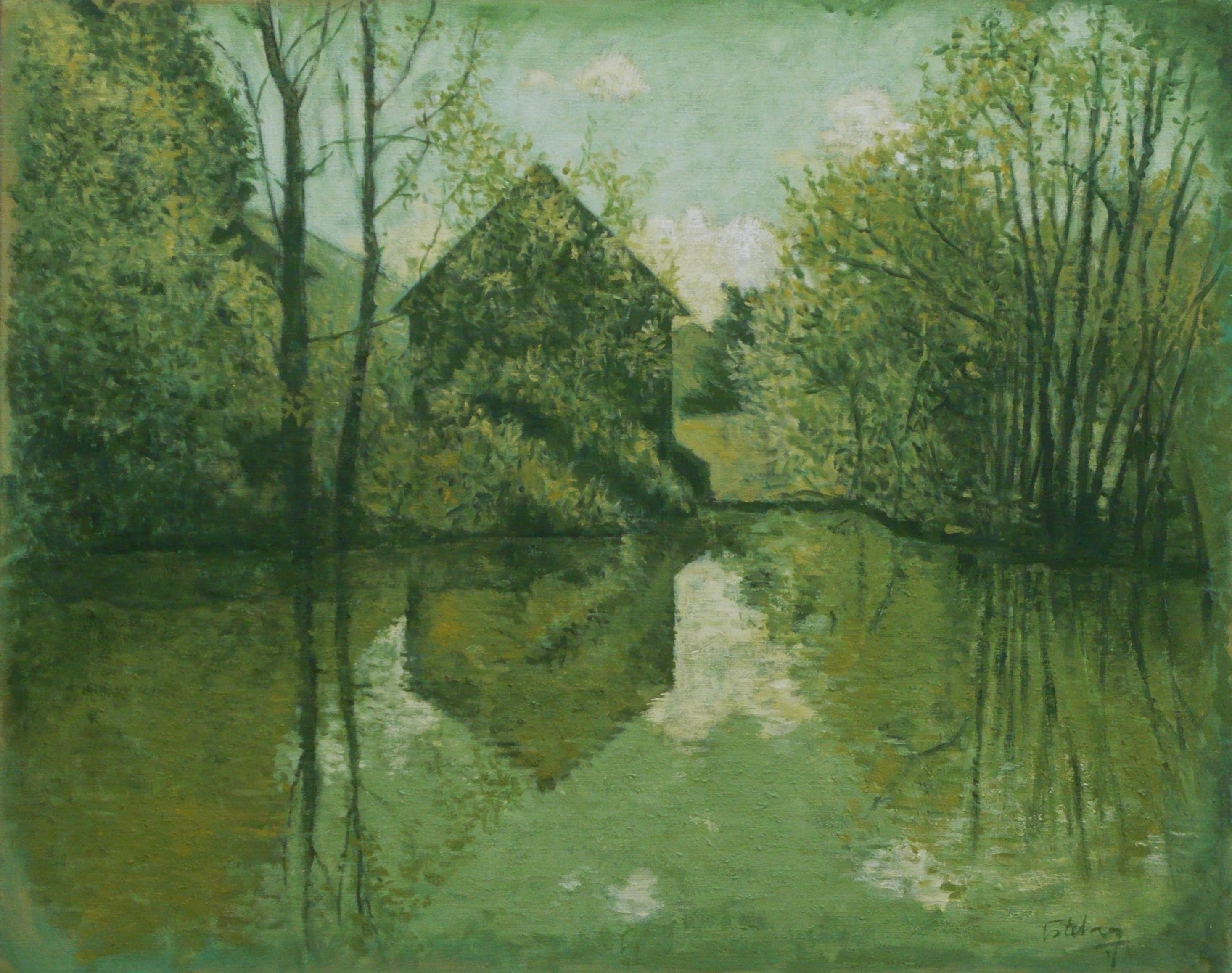 La maison de l'étang (vert)