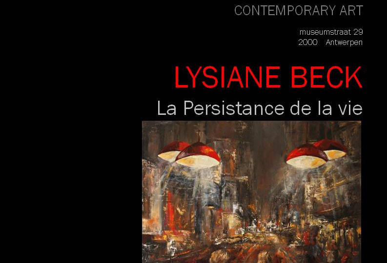 Lysiane Beck - La Persistance de la vie