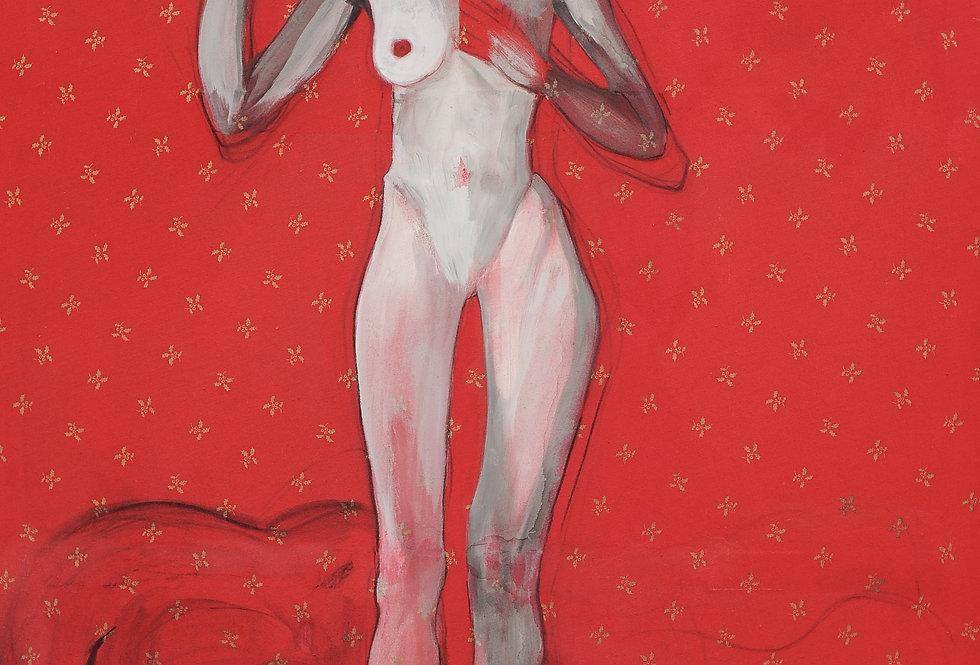 New Court Ladies - Noir Rouge et Blanc Nr. 14    (Cat N° 2109)