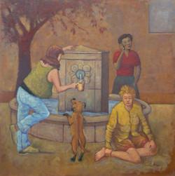 Femmes à la fontaine (Corse 1 avec c