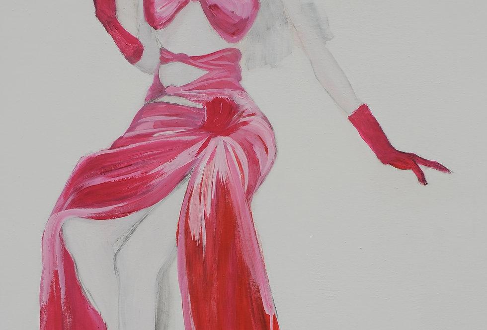 New Court Ladies - Noir Rouge et Blanc Nr. 7    (Cat N° 2102)