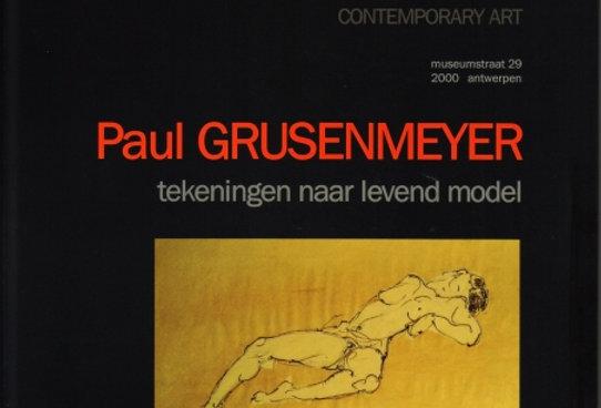 Paul Grusenmeyer - Tekeningen naar levend model