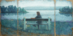 Femme à Préssagny (Seine)