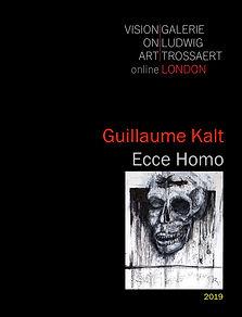 Cover Guillaume Kalt - Ecce Homo - 2019.