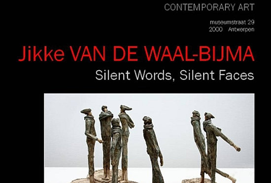 Jikke van de Waal Bijma - Silent Words, Silent Faces